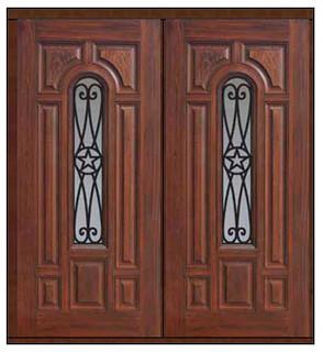 Prehung Double Door 80 Fiberglass Austin Texas Star Traditional Front Doo
