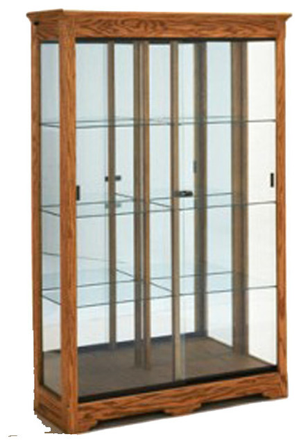 Collector's Trophy Case - Contemporary - Storage Cabinets - kansas city - by Display-Smart