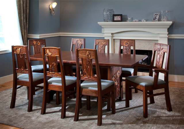 Dining Room Set In Lexington Ma Contemporary Furniture