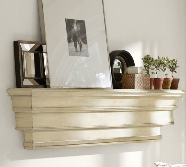 decorative ledge traditional display and wall shelves. Black Bedroom Furniture Sets. Home Design Ideas