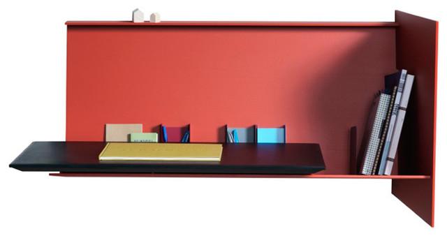 desk pad wandsekret r korallenrot rechts b wer. Black Bedroom Furniture Sets. Home Design Ideas
