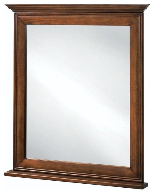 Home decorators collection mirrors la grange 34 in l x 30 in w framed vanity contemporary Home decorators collection mirrors