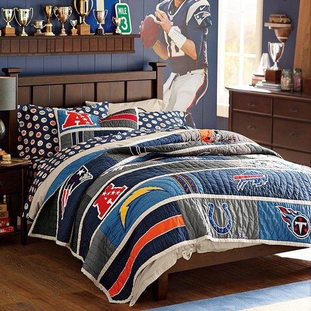 San Diego Chargers Bedding: NFL Quilt, AFC