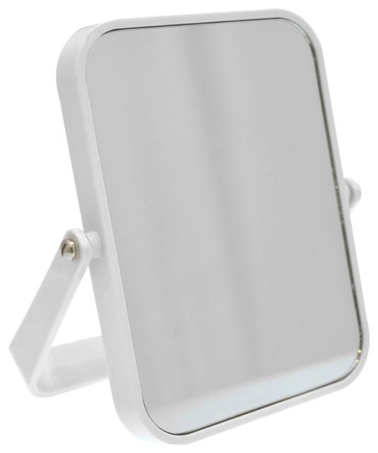 Miroir de salle de bain rectangulaire poser coloris for Miroir a poser par terre