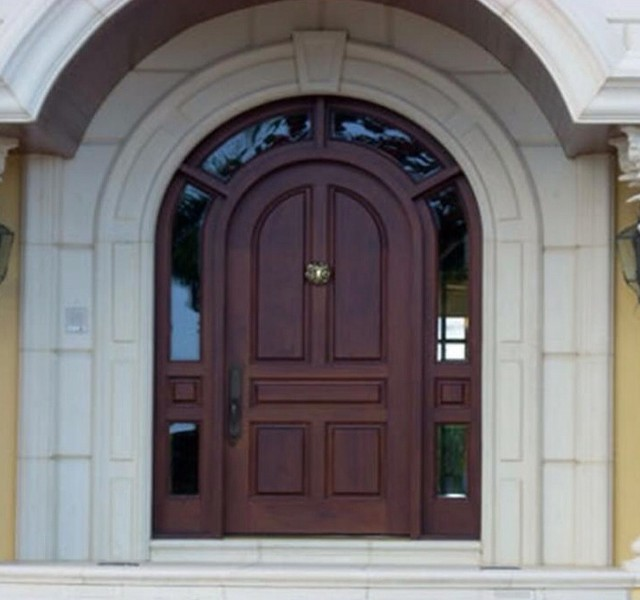 Rustic Entrance Wood Doors Traditional Front Doors Miami By Concept D