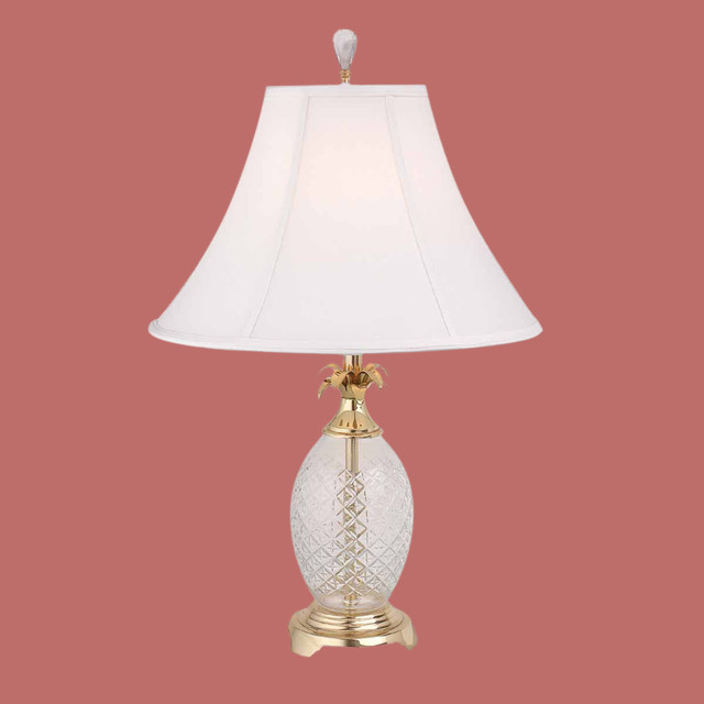 Table Lamps Pineapple Crystal Table Lamp 10451 Tropical