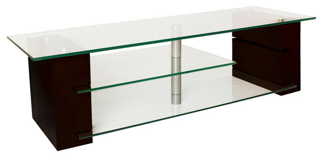Plateau Balance 59 TV Stand, Espresso - Contemporary - Entertainment Centers And Tv Stands - by ...