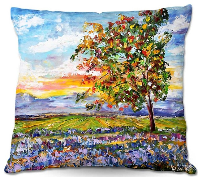 All Modern Outdoor Pillows : DiaNoche Outdoor Pillows Karen Tarlton Provence Lavender - Modern - Outdoor Cushions And Pillows ...