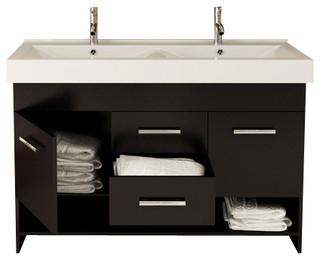 Rigel Double Sink Modern Bathroom Vanity Cabinet Modern Bathroom Vanity U