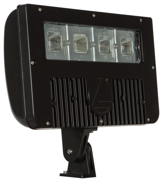 Lithonia Lighting Led Outdoor Flood Light: Lithonia DSXF2 D-Series 58W LED Outdoor Flood Light