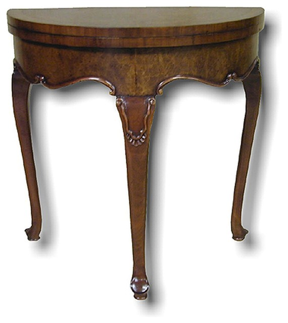 New Accent Table Queen Anne Banded Inlay Traditional Side Tables And Accent Tables By