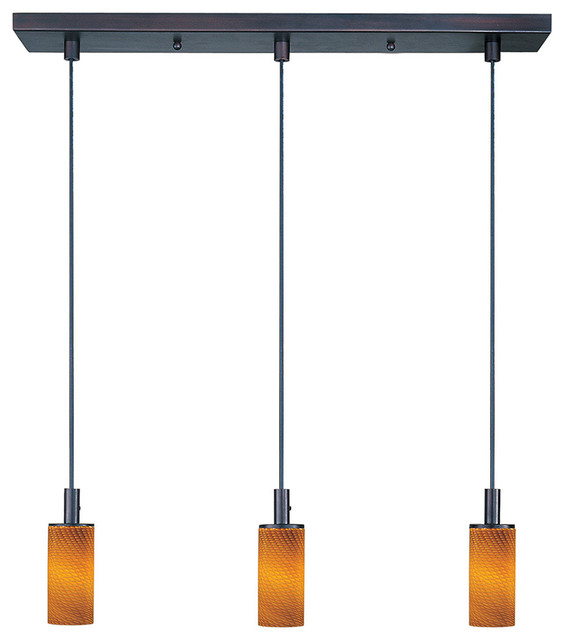 E92053-14 Carte 3-Light Linear Suspension