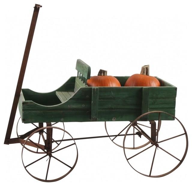 wooden garden wagons 2
