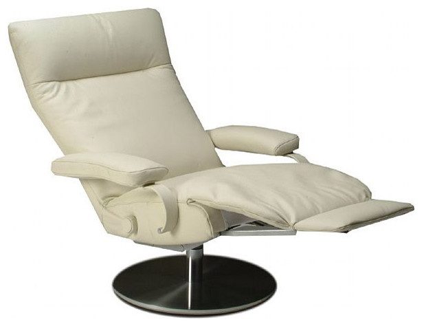 Lafer Sumi Swivel Recliner Contemporary Recliner Chairs Other Metro By Modernpalette
