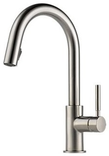 brizo 63020lf solna single handle pull down kitchen faucet. Black Bedroom Furniture Sets. Home Design Ideas