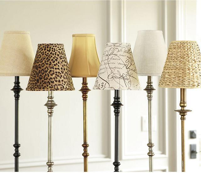 Buffet Lamp Shade Contemporary Lamp Shades By
