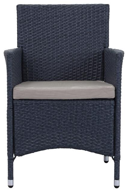 Safavieh Kendrick Outdoor Chair Titanium Sand