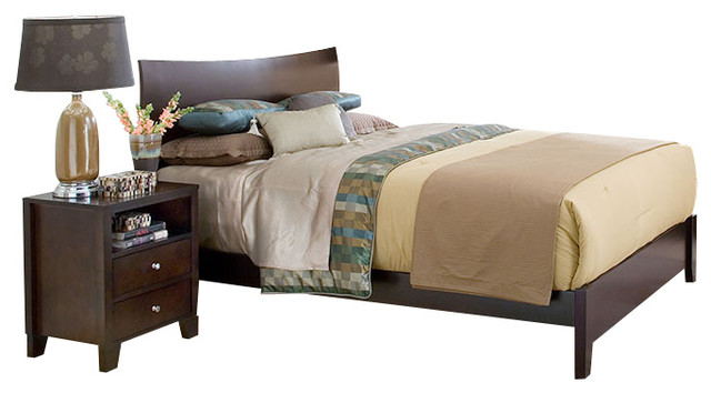 Lifestyle Solutions Canova 5 Piece Platform Bedroom Set In