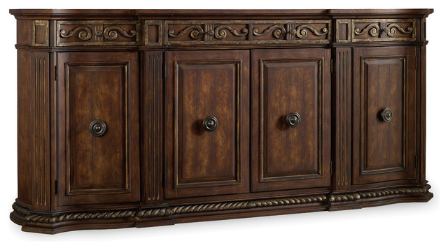 Hooker Furniture Adagio 96-inch Credenza 5091-85001 - Transitional - Buffets And Sideboards - by ...
