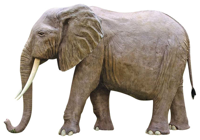 Enormous african elephant contemporary decorative African elephant home decor