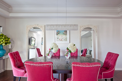Colorful Dining Room by Emily Ruddo