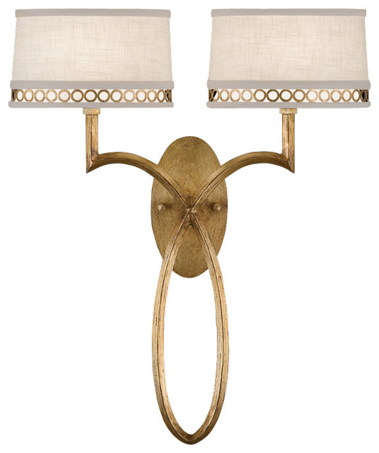 Fine Art Lamps Allegretto Gold Sconce, 784750-2ST - Traditional - Wall Sconces - by Seldens ...