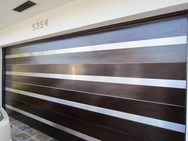 Contemporary Garage Doors Stainless Steel - Modern ...
