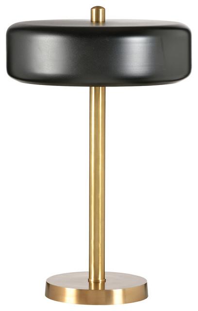 Frederick Cooper Contemporary Black Shade Desk Lamp