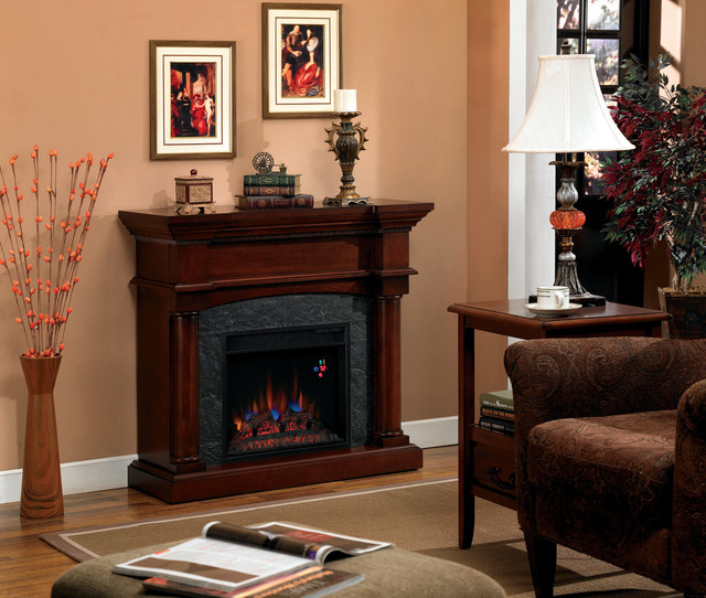 Martha 39 s vineyard wall or corner electric fireplace in for Indoor corner fireplace