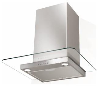 nova hotte aspirante de cuisine en verre et inox moderne hotte et ventilation par alin a. Black Bedroom Furniture Sets. Home Design Ideas