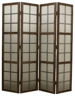 Screen Gems Eglomise Screen Traditional Screens And Room Dividers By Be
