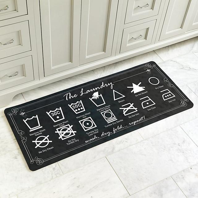 ballard designs laundry comfort mat mocha small
