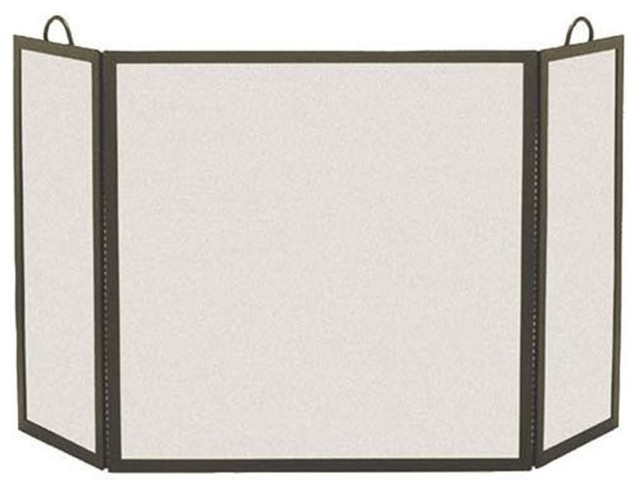 pilgrim 18215 3 panel rectangular screen contemporary