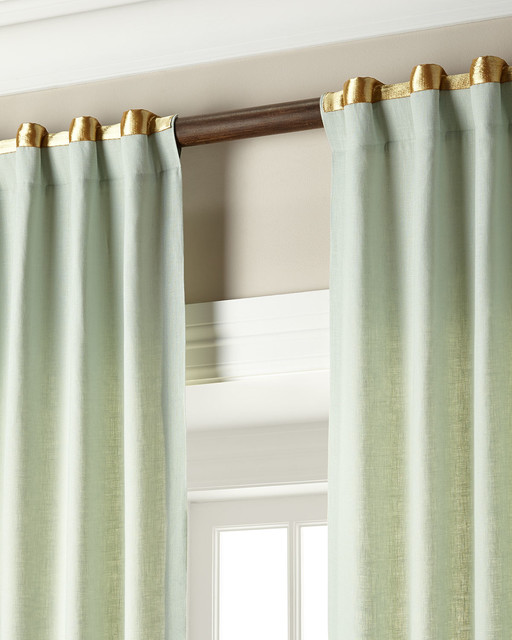 Each 52 w x 108 l curtain contemporary curtains by for 108 window treatments