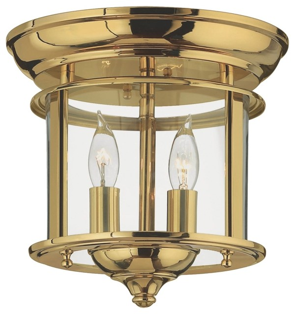 """Cottage Hinkley Gentry Collection Brass 9"""" Wide"""