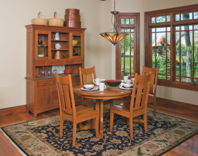 Mission Style Dining Room Tables Craftsman Style Cherry Dining Room  Furniture Craftsman