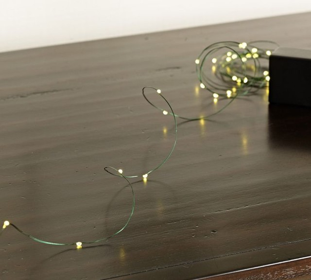 Mini Led String Lights Contemporary Home Decor By