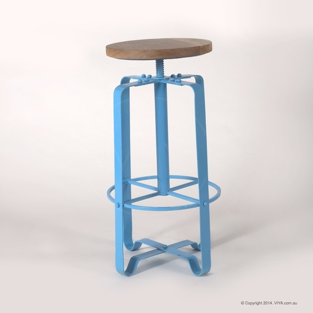 Joy Industrial Retro Stool Industrial Bar Stools And Counter Stools M