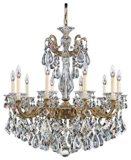 Schonbek Lighting 5074 74h La Scala Parchment Bronze 10