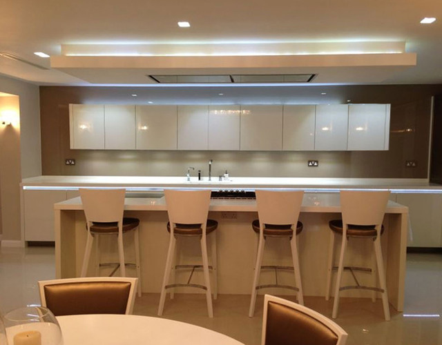 Ealing residence contemporary kitchen london by we for Kitchen ideas ealing