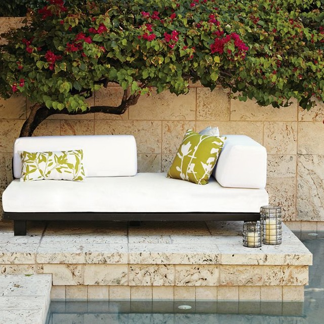 Tillary Outdoor Sofa Contemporary Outdoor Sofas by West Elm