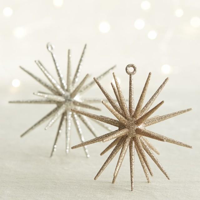 Metallic Starburst Ornaments | BESA GM