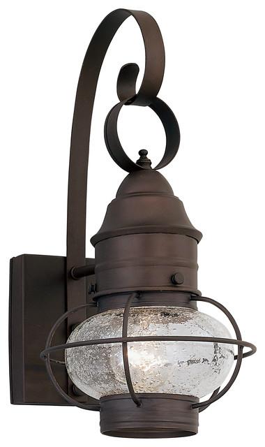 rustique 1 light outdoor onion wall lantern beach style. Black Bedroom Furniture Sets. Home Design Ideas