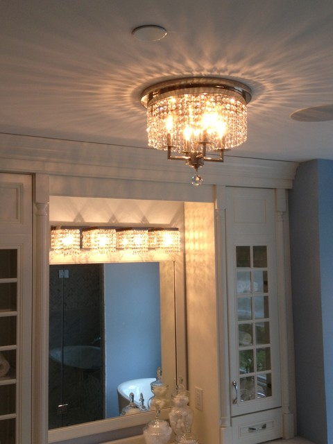 Modern Vanity Lighting Bathroom Transitional With Light