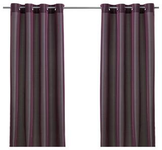 p rlbuske bauhaus look gardinen vorh nge von ikea. Black Bedroom Furniture Sets. Home Design Ideas