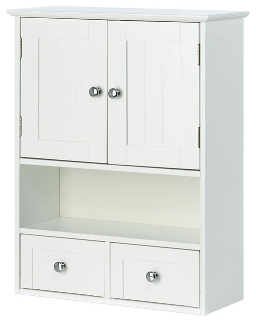 Nantucket Wall Cabinet traditional-bathroom-cabinets-and-shelves