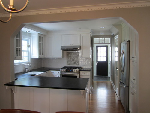 Show me your remodel w 8 ft ceilings for 7 ft kitchen ideas