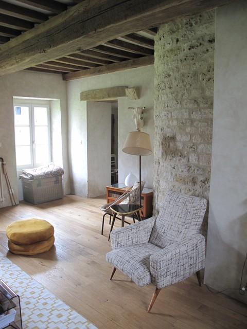 ... XVIeme - aménagement et décoration intérieure eclectique-salon