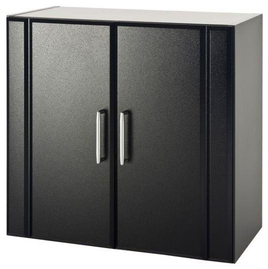 Free Standing Cabinets Racks & Shelves: ClosetMaid Garage Cabinets 24 in. H x contemporary ...