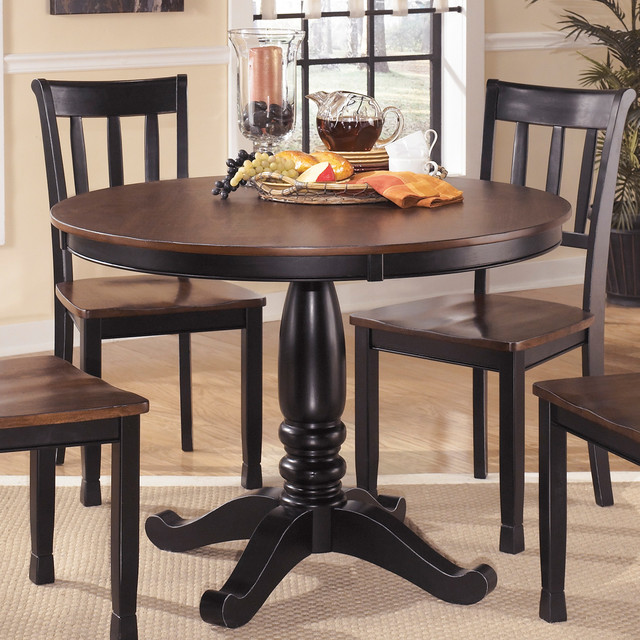 Ashley Dining Furniture: Signature Design By Ashley Round Dining Room Table